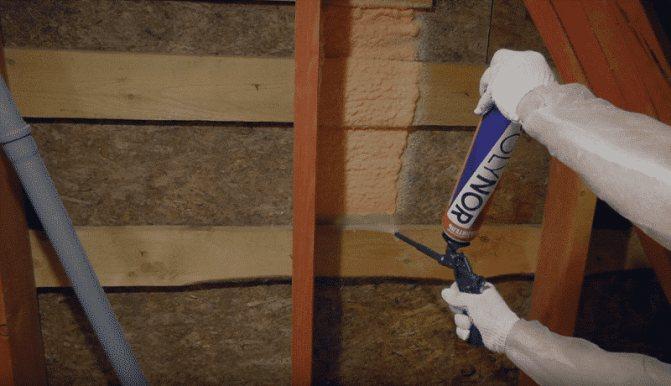 Пена для утепления стен дома: нанесение жидкой монтажной пены в баллонах своими руками, теплоизоляция стен внутри и снаружи