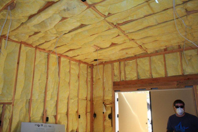 Утепление крыши изнутри в частном доме своими руками