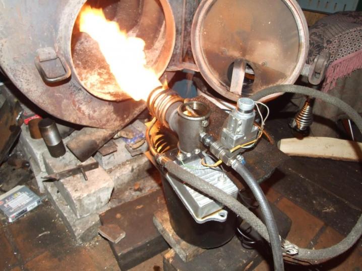 Изготовление горелки на отработанном масле своими руками