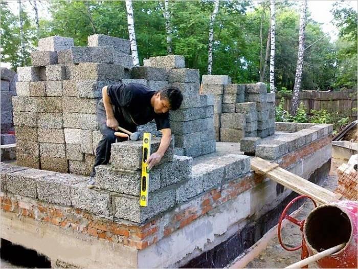 Стоит ли строить дом из арболита, ориентируясь на отзывы   папа мастер!