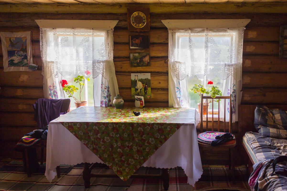 Русская изба с полностью сохранённым интерьером – ей уже 350 лет