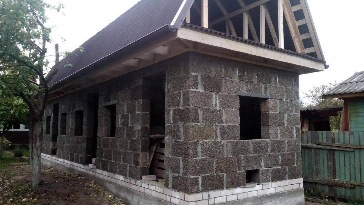 Стоит ли строить дом из арболита, ориентируясь на отзывы