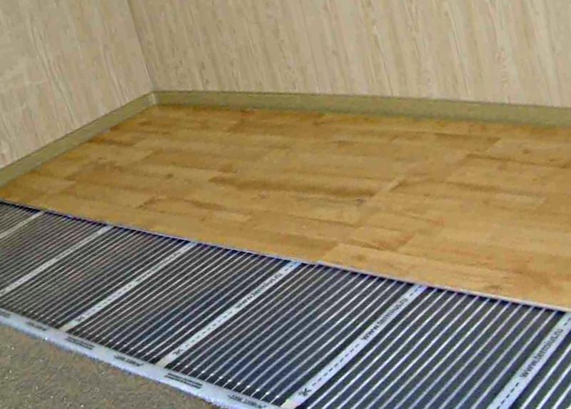 Как правильно уложить теплый пол под паркетную доску