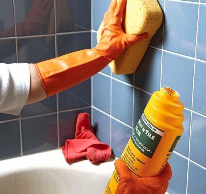 Средство для чистки кафеля: обзор домашних и специализированных