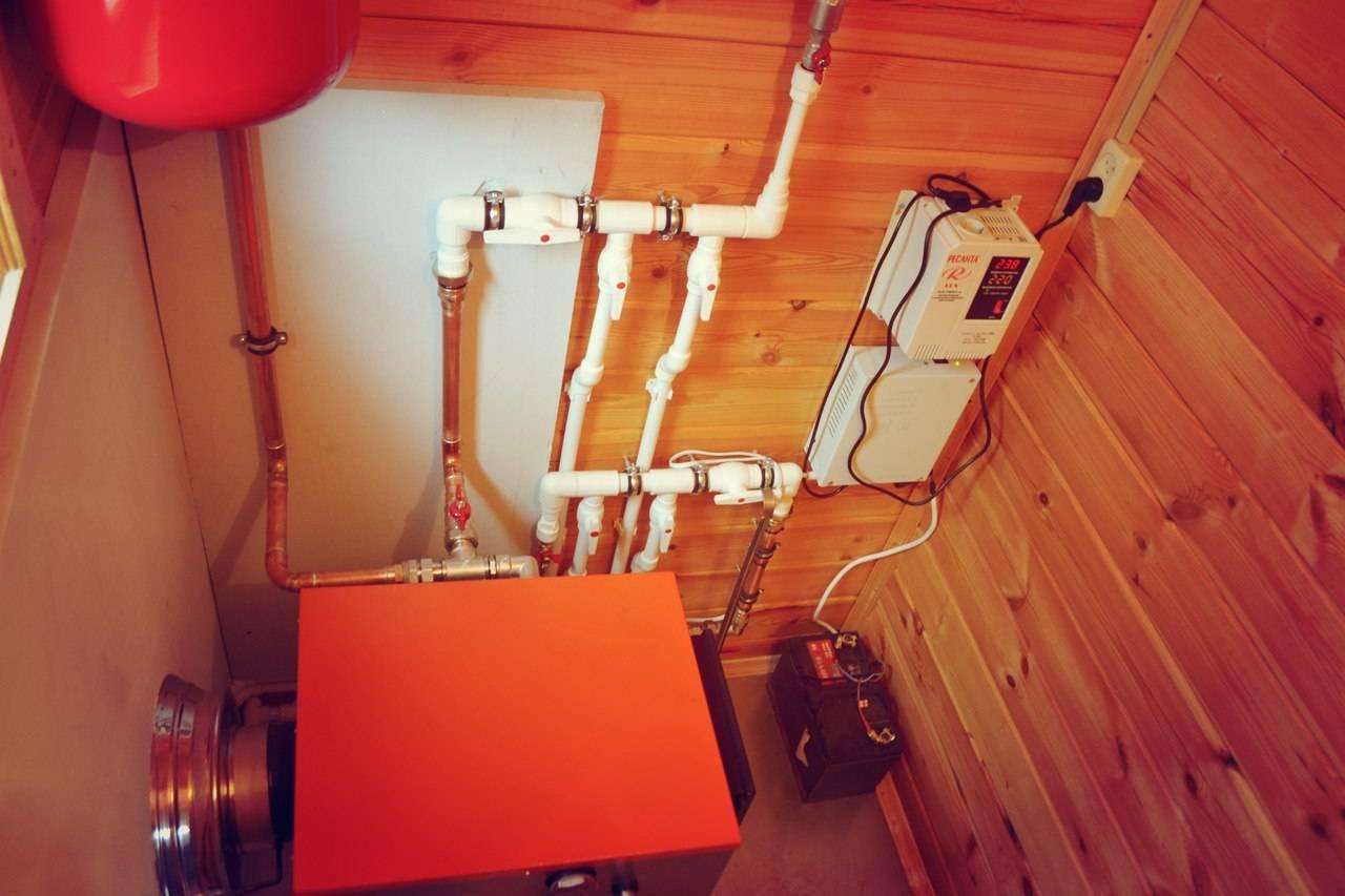Монтируем отопление в загородном доме – варианты и цены