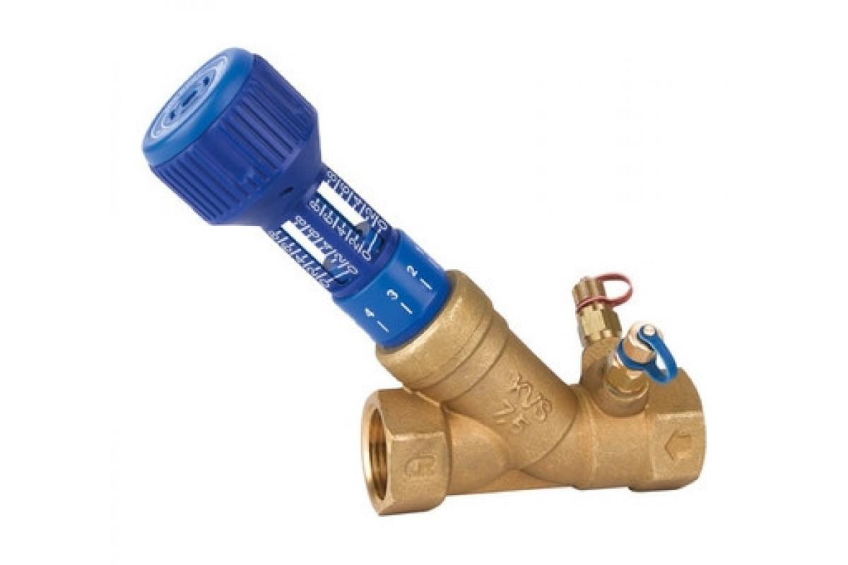 Установка балансировочного клапана для системы отопления
