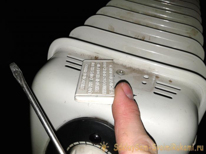 Как отремонтировать масляный обогреватель: устройство, причины поломок