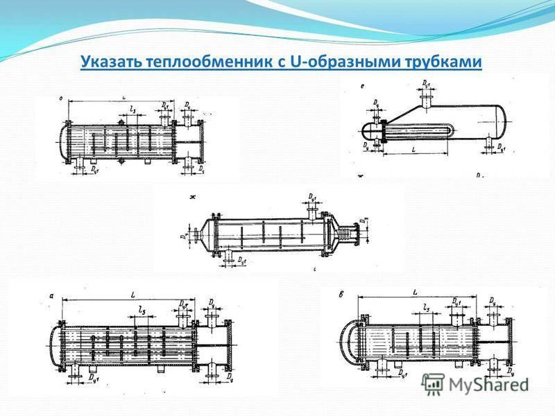 Кожухотрубный теплообменник: типы, устройство конструкции, принцип действия, маркировка