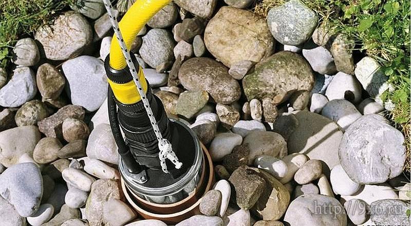Как вытащить насос, который уронили в скважину?