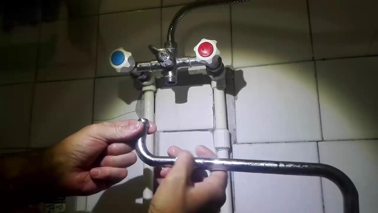 Течет смеситель в ванной как починить - все о канализации