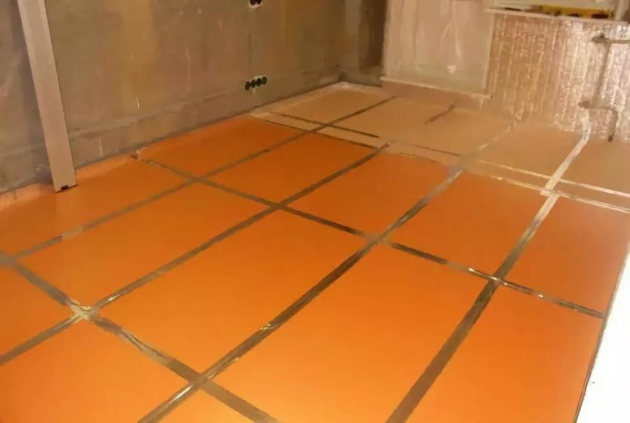 Утепление бетонного пола: пенопластом и другими утеплителями