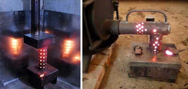 Печь на отработанном масле своими руками: изготавливаем печь на отработанном масле, изучив чертеж и пошаговую инструкцию