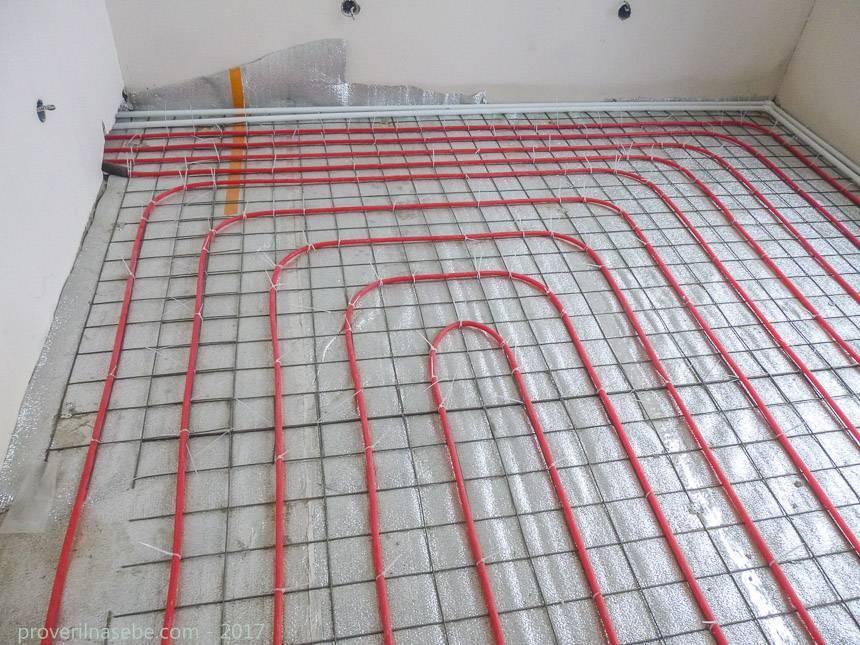 Водяной теплый пол в квартире: устройство, монтаж, сложности с оформлением