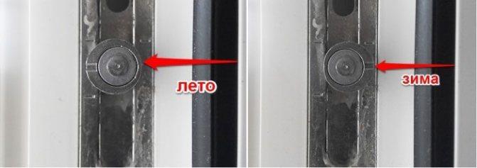 Зимний режим пластиковых окон: дополнительная настройка и правильная регулировка, видео