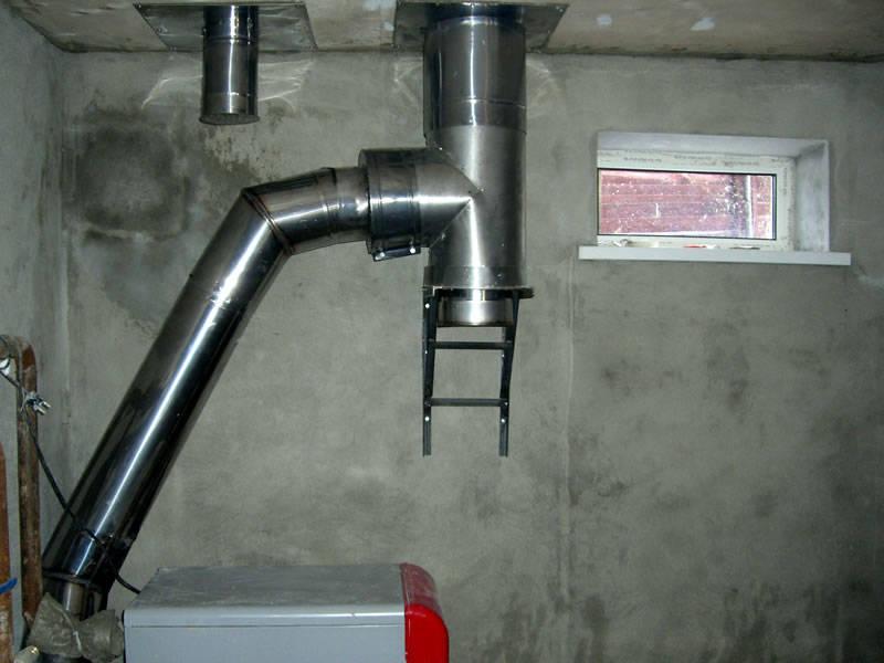 Особенности труб для дымохода из нержавеющей стали