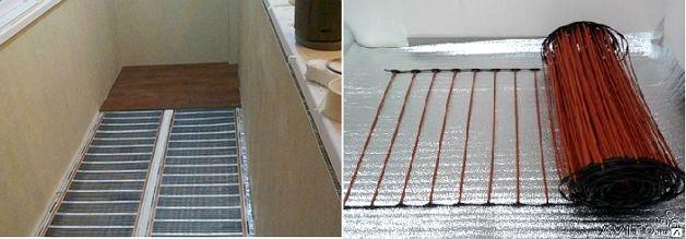 Теплый пол на балконе своими руками - как лучше сделать?