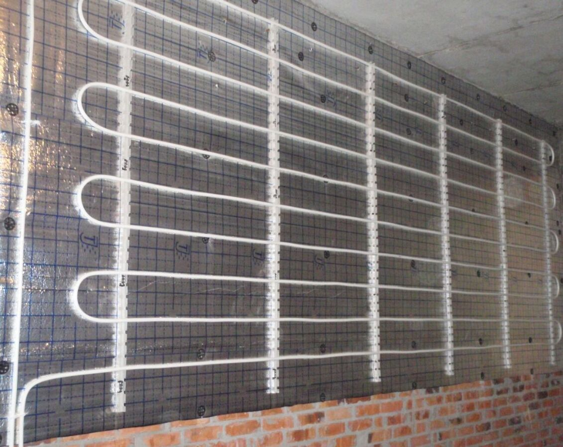 Теплые стены: еще одна технология отопления дома