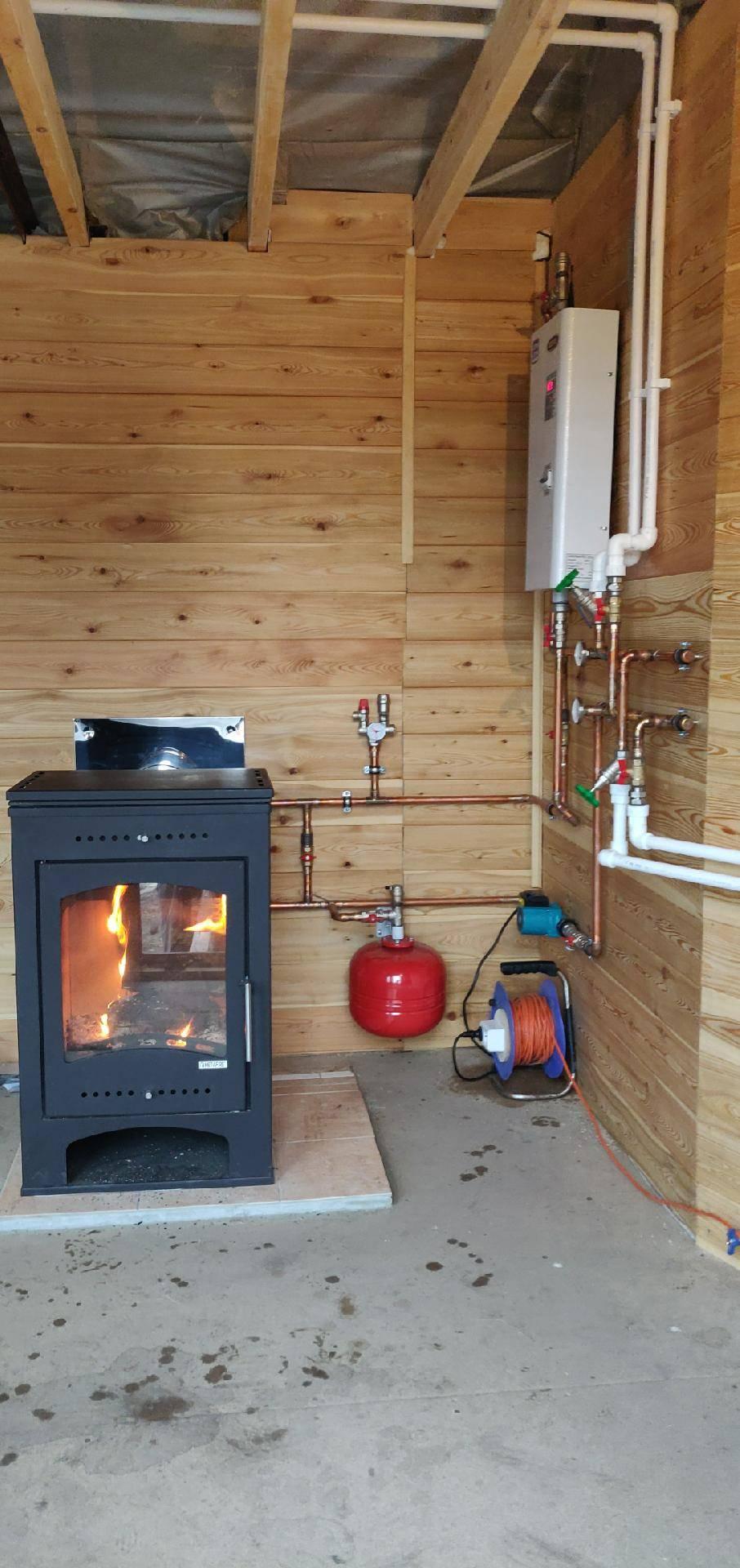 Отопление дачи – самый экономный способ, разновидности систем