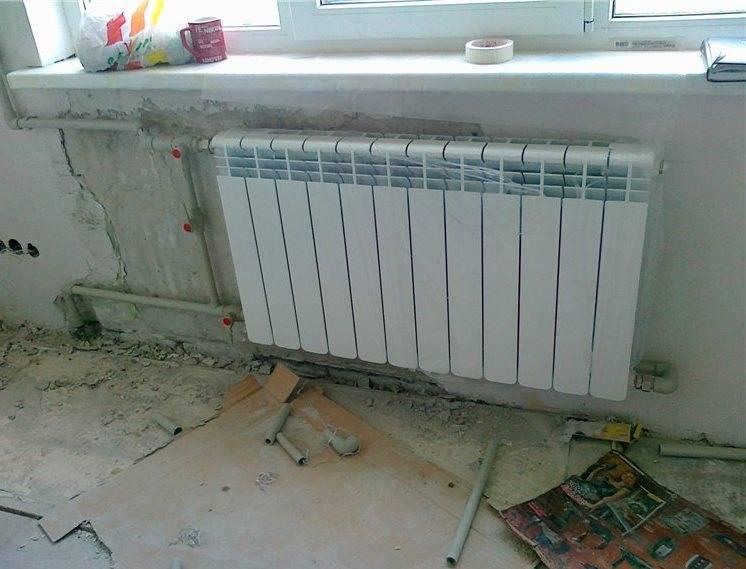 Замена радиаторов отопления в квартире. советы эксперта