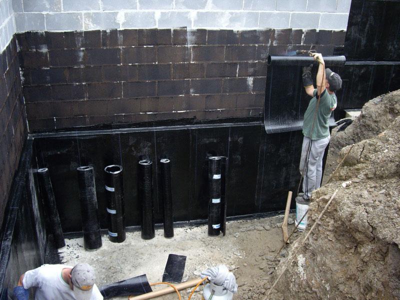 Гидроизоляция стен подвала снаружи — выкладываем во всех подробностях