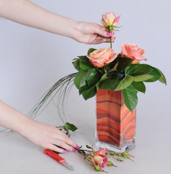 Искусственные цветы в интерьере: 195+ (фото) букетов, композиций