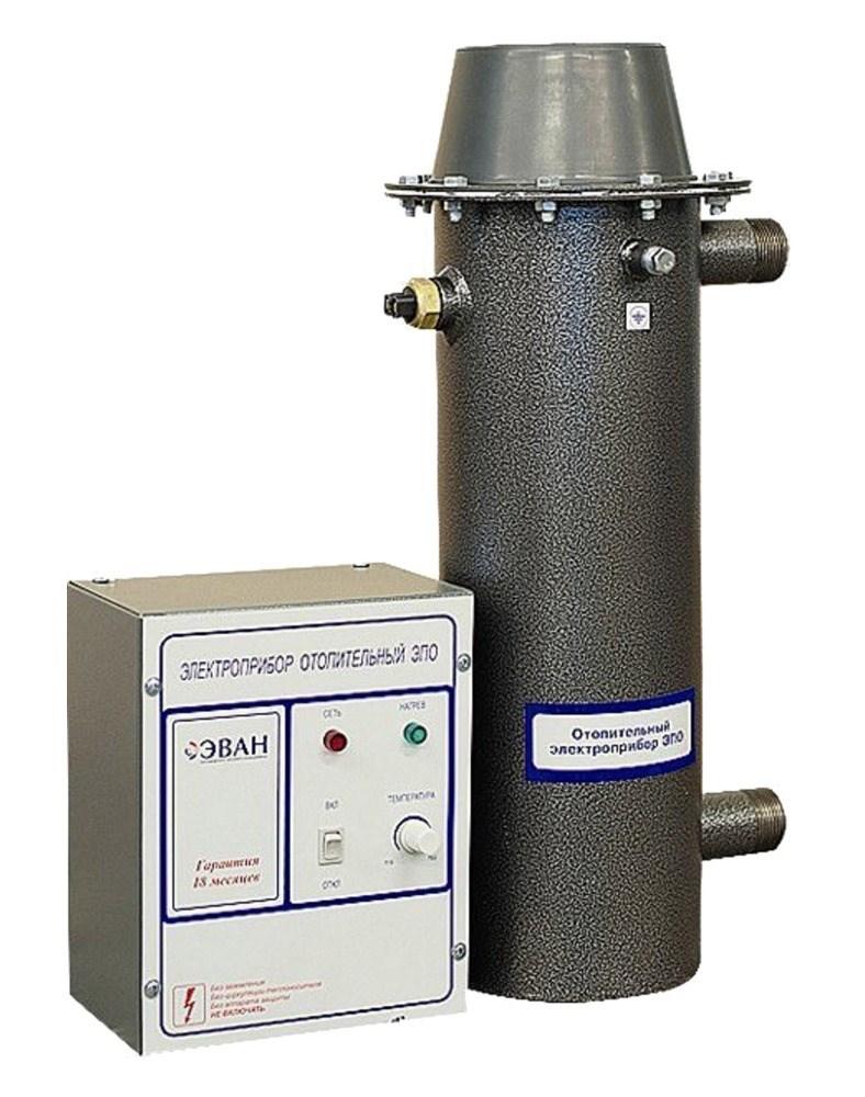Электрические котлы отопления эван - обзор серии стандарт и комфорт