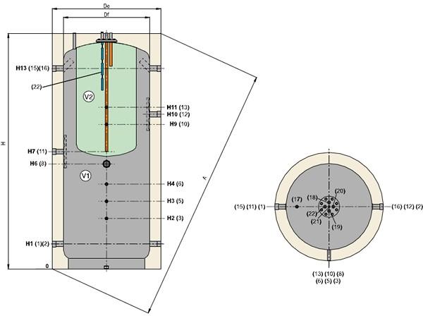 Теплоаккумулятор для котлов отопления своими руками | всё об отоплении
