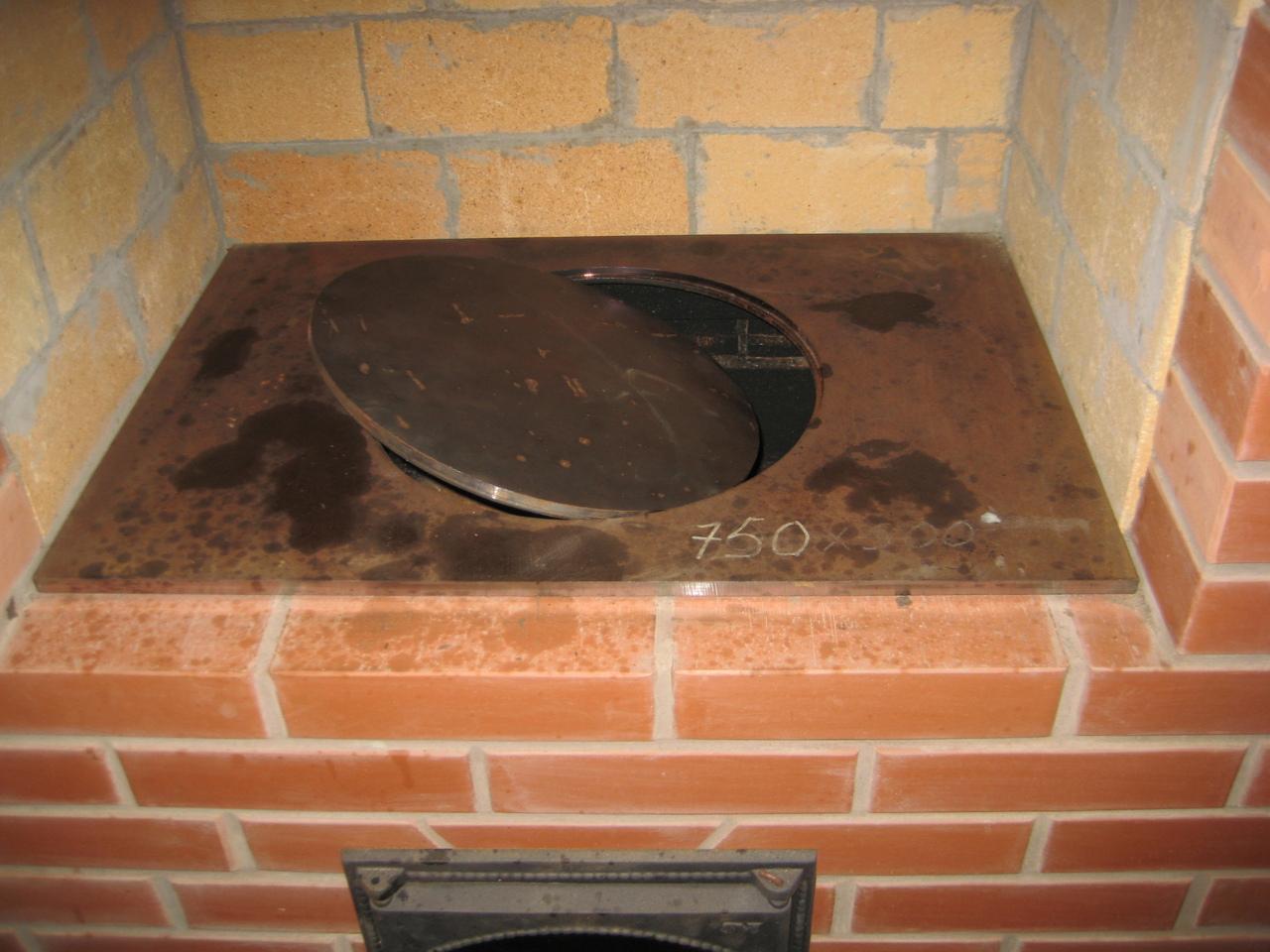 Нюансы выбора и установки чугунной плиты для печи
