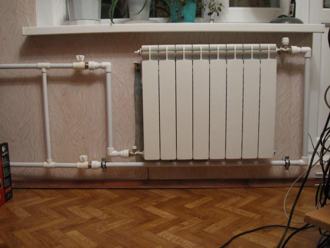 Как в квартире перекрыть батарею отопления