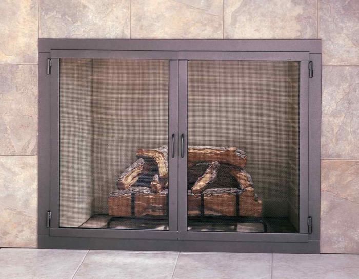 Дверцы для каминов и печей – какое выбрать стекло