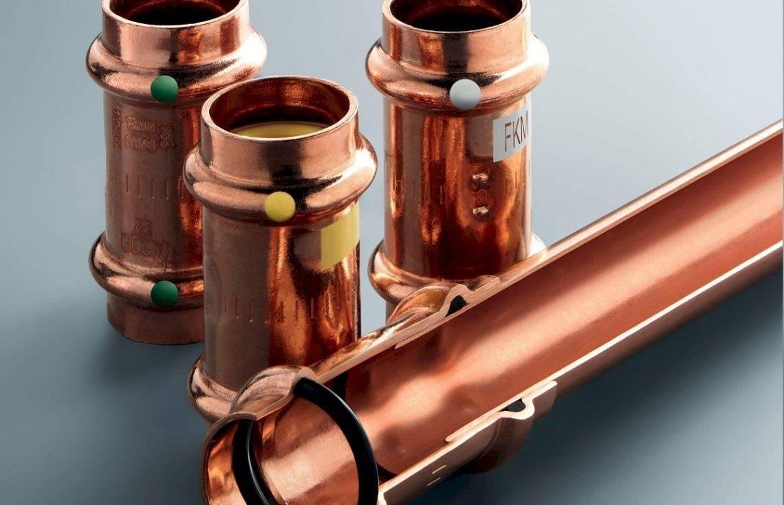 Как монтировать отопление из медных труб