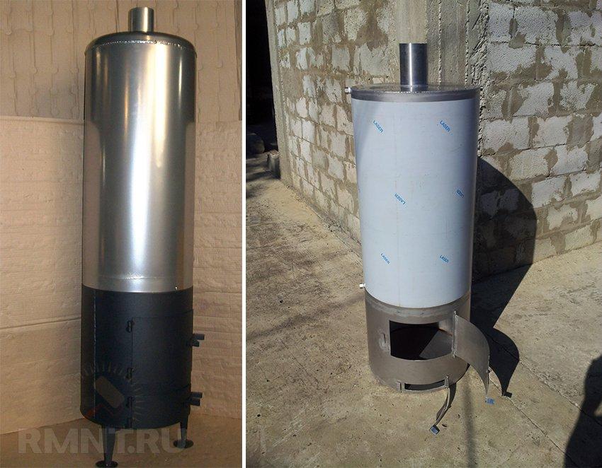 Виды дровяных водонагревателей для душа: критерии выбора и особенности