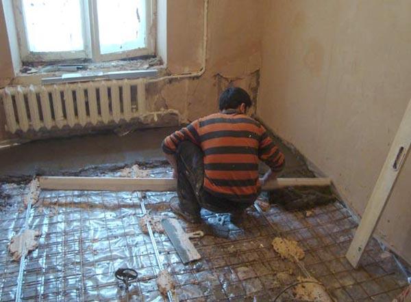 Утепление пола первого этажа: самостоятельно утепляем пол в частном доме