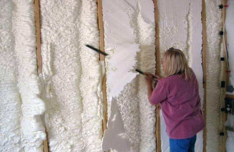 Утепление бетонных стен изнутри своими руками - клуб мастеров
