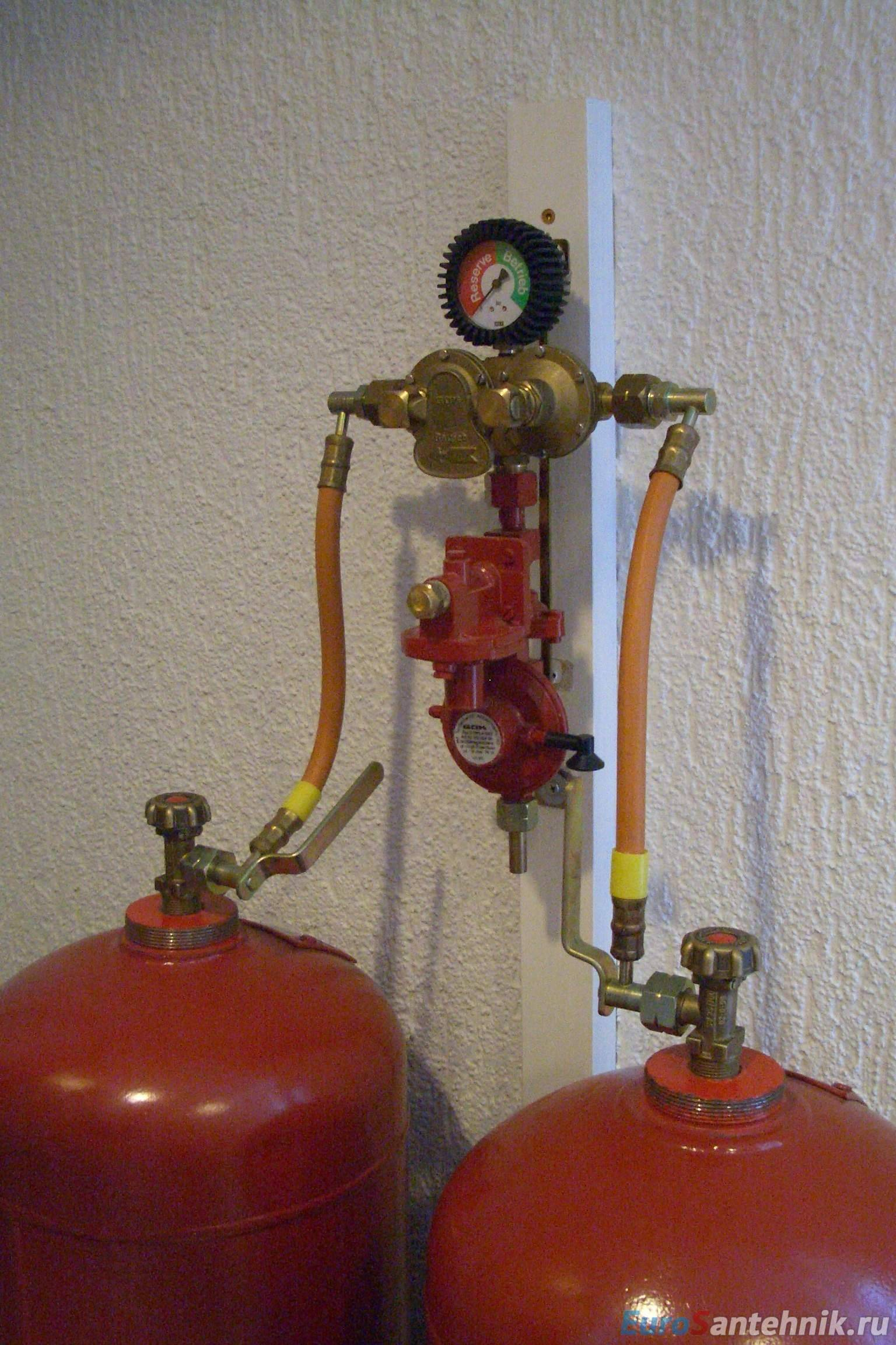 Правила отопления газовыми котлами на баллонах — расход
