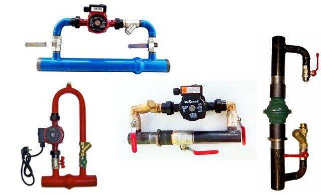Схема подключения циркуляционного насоса в систему отопления частного дома: установка, как подключить, куда ставить, где установить