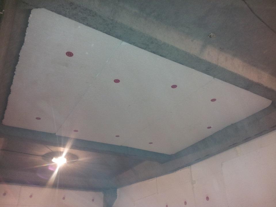 Утепление потолка в гараже изнутри своими руками