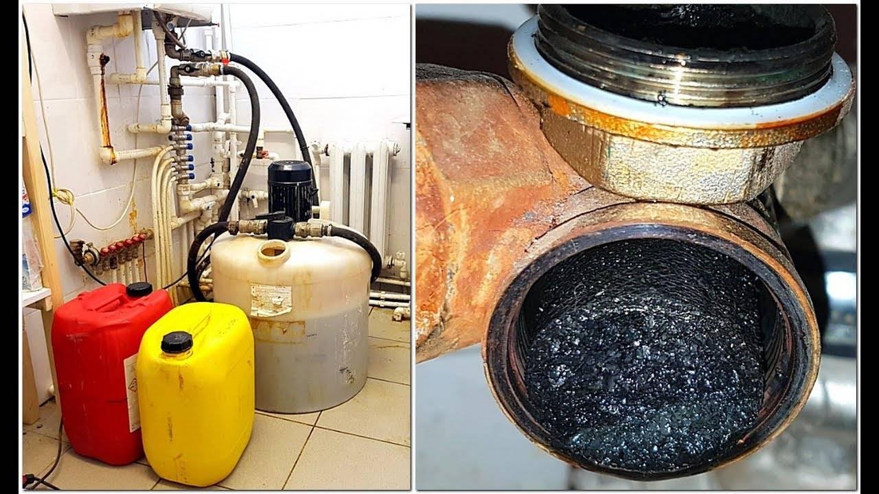 Промывка теплообменника газового котла лимонной кислотой | всё об отоплении