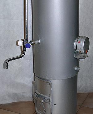 Титан для душа дровяной: сравнение водонагревателей