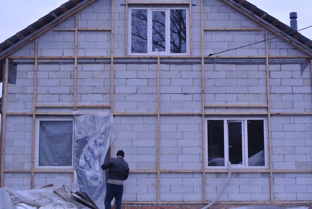 Толщина утеплителя для газобетонного дома