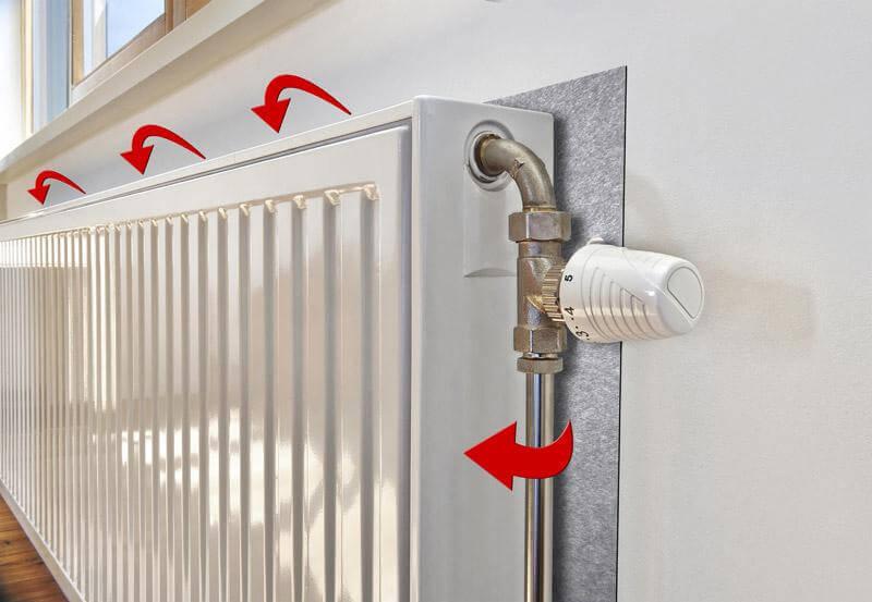 Нужен или нет теплоотражающий экран за радиатором отопления - жми!