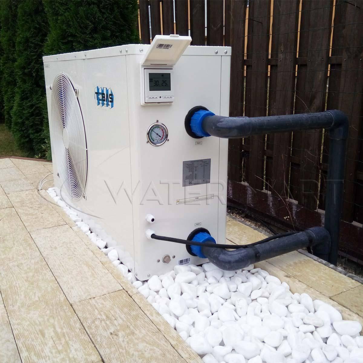 Тепловой насос для бассейна: как выбрать, устройство, установка