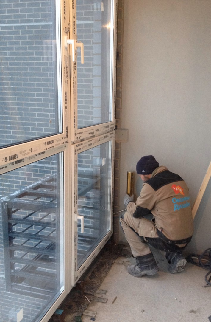 Технология утепления панорамного балкона