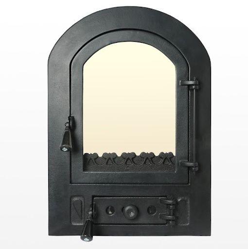 Главное украшение и защита топки: какая чугунная дверца для печи лучше всего выполняет свою работу?