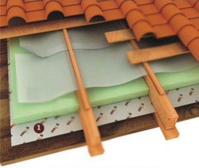 Утепление крыши изнутри своими руками пенопластом — делаем правильно