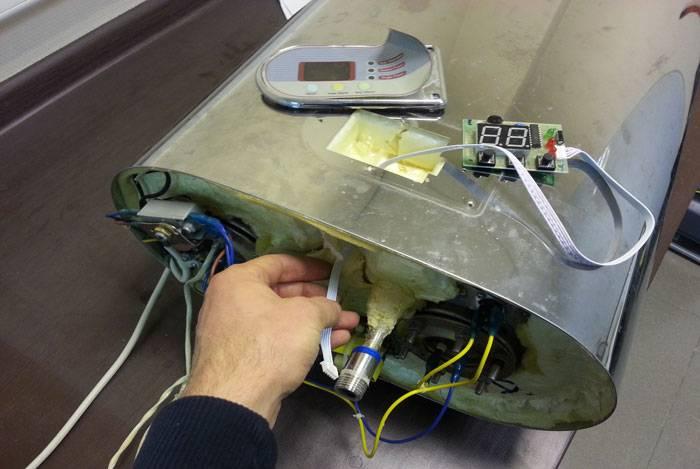 Пошаговая инструкция замены ТЭНов на водонагревателе Термекс