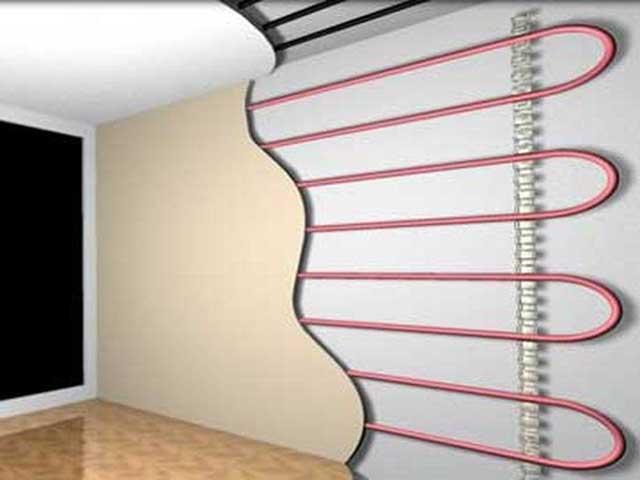 Теплый пол на стену: разновидности, как выбрать и монтаж