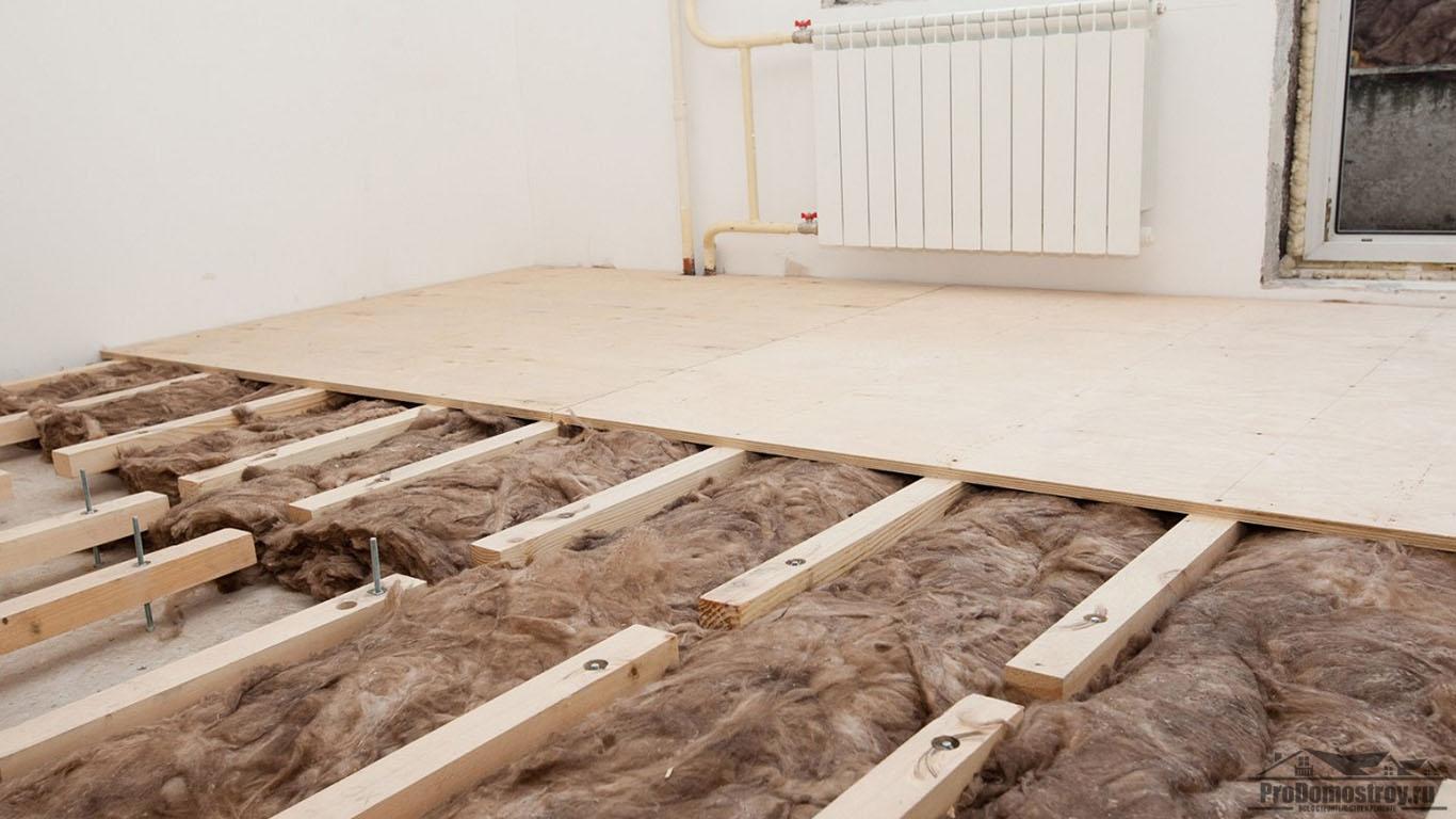 Деревянные полы в частном доме — что нужно знать о монтаже