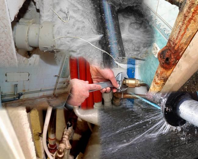 Как устранить течь в трубе с водой под давлением: способы, как убрать протечку в пластиковом и металлическом трубопроводе