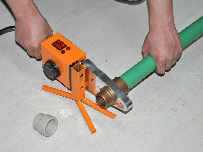 Технология сварки полипропиленовых труб технология, время, требуемый комплект, как правильно паять
